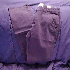Aeropostale skinny slacks size 8 long nwts